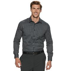 Big & Tall Apt. 9® Stretch No-Iron Button-Down Shirt