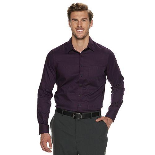 Big & Tall Apt. 9® Stretch No-Iron Button-Down Shirt