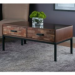 Winsome Jefferson Textured Coffee Table