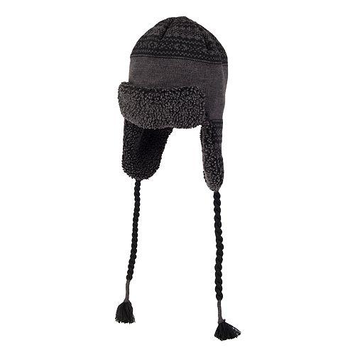 6fbd594ca2f Men s Levi s® Sherpa-Lined Knit Peruvian Hat