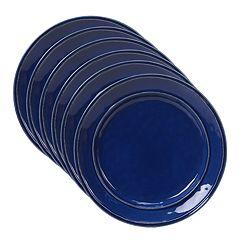 Certified International Orbit 6-piece Salad Plate