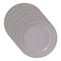 Certified International Orbit 6-piece Salad Plate