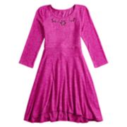 Girls 7-16 and Plus Size SO® Sequin Fit & Flare Skater Dress