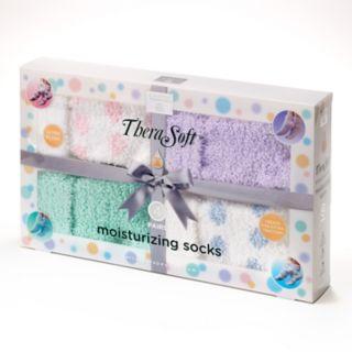 Earth Therapeutics 4-pk. Shea Butter Thera-Soft Socks