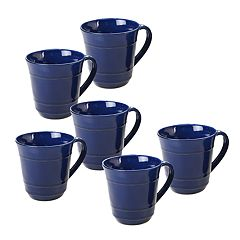 Certified International Orbit 6-piece Mug Set