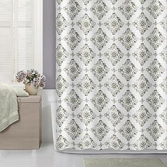 Flower Medallion Shower Curtain