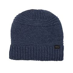 Men's Levi's® Textured Sherpa-Lined Cuffed Beanie