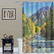 Peak Shower Curtain