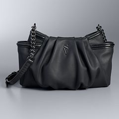 Simply Vera Vera Wang Morris Pleated Crossbody Bag