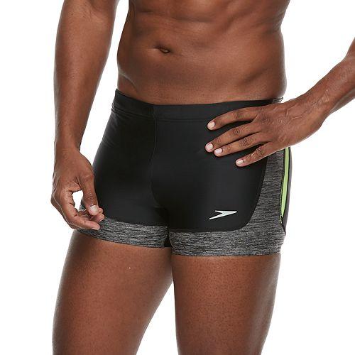 Men's Speedo Rush Square-Leg Hybrid Swim Shorts