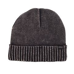 Men's Levi's® Acid-Washed Sherpa-Lined Cuffed Beanie