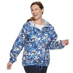 Plus Size Columbia Flash Forward Hooded Windbreaker Jacket