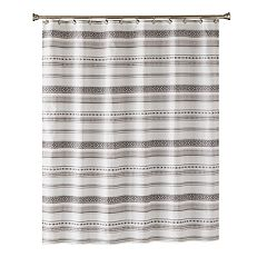 Saturday Knight, Ltd. Geo Stripe Shower Curtain