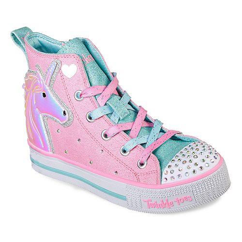Skechers Girls' Light Up Sneakers (Sizes 11 – 3)