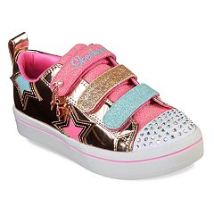 Skechers Twinkle Toes Twi-Lites Twinkle Stars Girls' Light Up Shoes