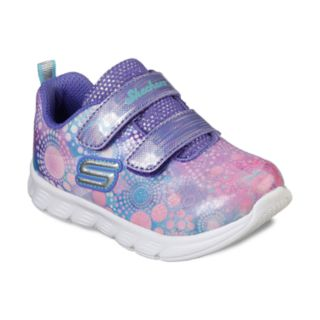 Skechers Comfy Flex Dainty Dash Toddler Girls' Sneakers