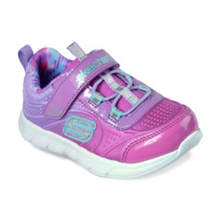 Skechers Comfy Flex Mini Dazzler Toddler Girls' Sneakers