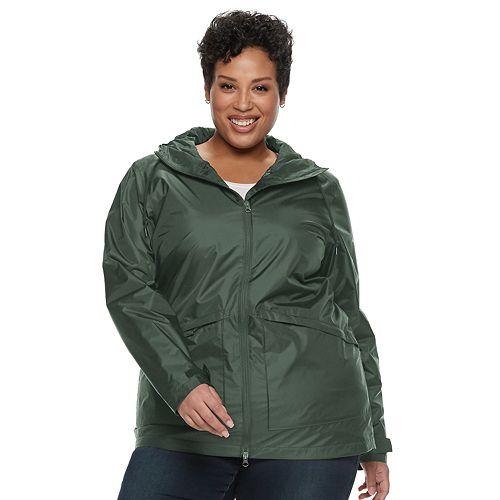 Plus Size Columbia Arcadia Omni-Tech Hooded Jacket