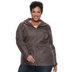Plus Size Columbia Arcadia Omni-Tech Hooded Jacket