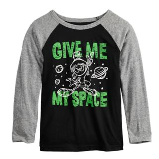 """Boys 4-12 Jumping Beans® Marvin the Martian """"Give Me My Space"""" Raglan Graphic Tee"""