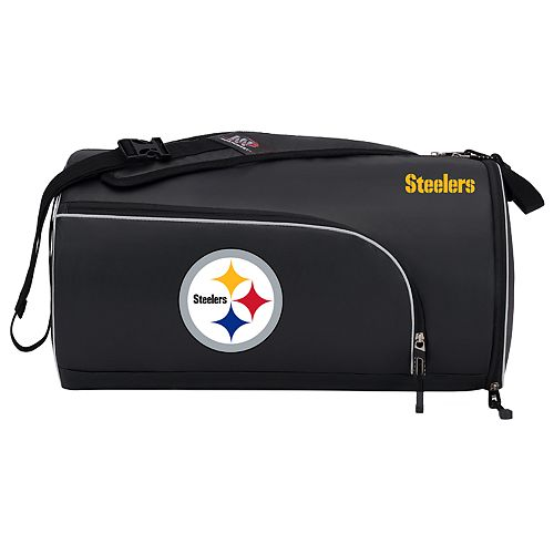Pittsburgh Steelers Squadron Duffel Bag by Northwest