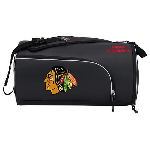 Chicago Blackhawks Squadron Duffel Bag by Northwest