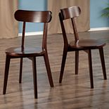 Winsome Pauline Dining Chair 2-piece Set