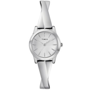 Timex Women's Elevated Classic Criss Cross Expansion Watch - TW2R98700JT