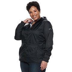 0cb91419be Plus Size Columbia Proxy Falls Hooded Anorak Jacket
