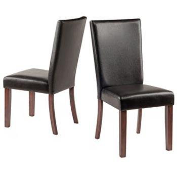 Winsome Johnson Dining Chair 2-piece Set