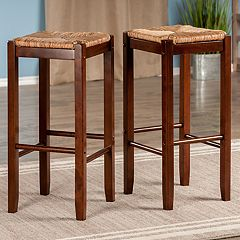 Winsome Kaden Bar Stool 2-piece Set