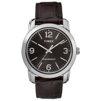 Timex Men's Elevated Classic Leather Watch - TW2R86700JT