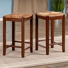 Winsome Kaden Counter Stool 2-piece Set