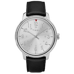 Timex Men's Elevated Classic Leather Watch - TW2R85300JT