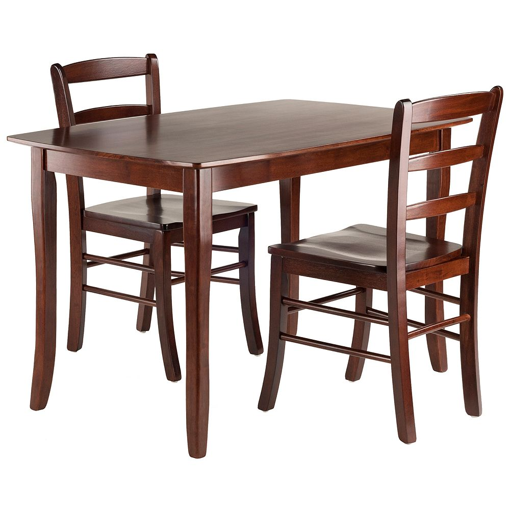 Winsome Inglewood Dining Table & Chairs 3-piece Set