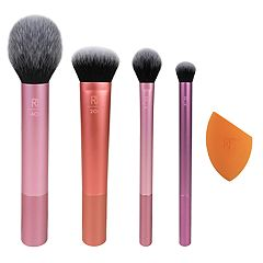 Real Techniques Everyday Essentials 5-Piece Brush Set