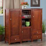 Winsome Brooke Storage Cabinet 3-piece Set