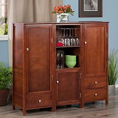 Winsome Brooke Storage Cabinet 3-piece Set