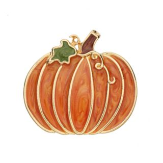 Orange Pumpkin Pin