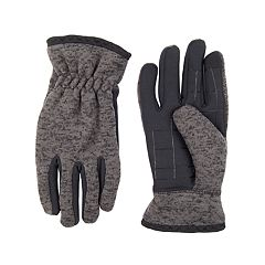 Men's Levi's® Mixed Media Touchscreen Stretch Gloves