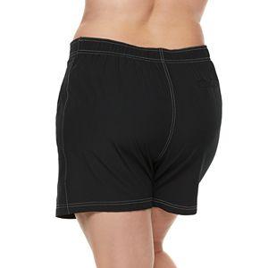 Plus Size ZeroXposur Hybrid Swim Shorts