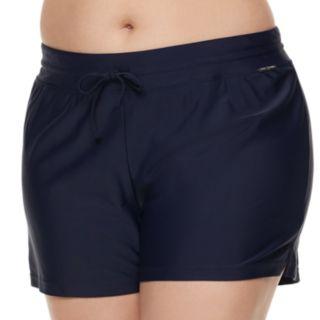 Plus Size ZeroXposur Action Swim Shorts