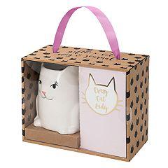 Belle Maison Figural Cat Mug