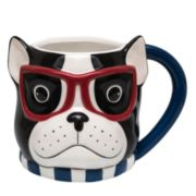 Belle Maison French Bulldog Mug & Journal Set