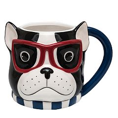 Belle Maison French Bulldog Mug & Journal Set