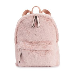 madden NYC Faux Fur Mini Backpack