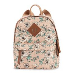 madden NYC Printed Floral Mini Backpack