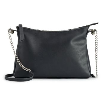 madden NYC Faux Leather Crossbody Bag