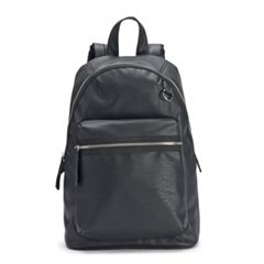 madden NYC Faux Leather Backpack