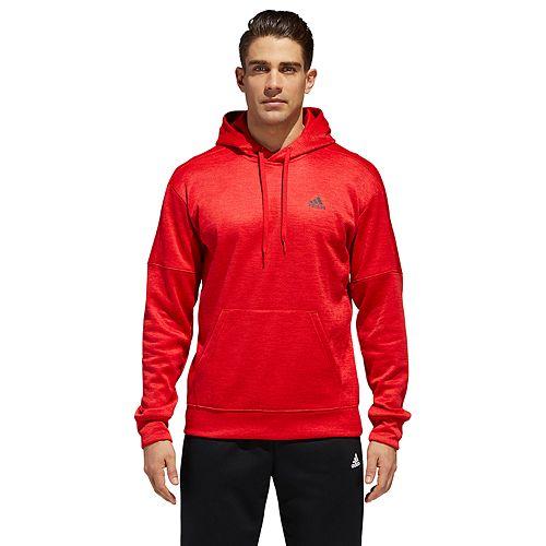 Men's adidas Team Issue Performance Left Chest Logo Hoodie